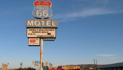Route 66 ved Seligman i Arizona.