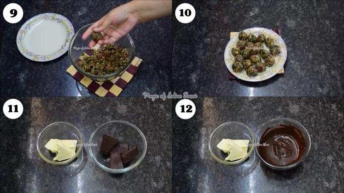 Chocolate Paan Balls - Diwali Special Recipe - चॉकलेट पान बॉल्स रेसिपी - Priya R - Magic of Indian Rasoi