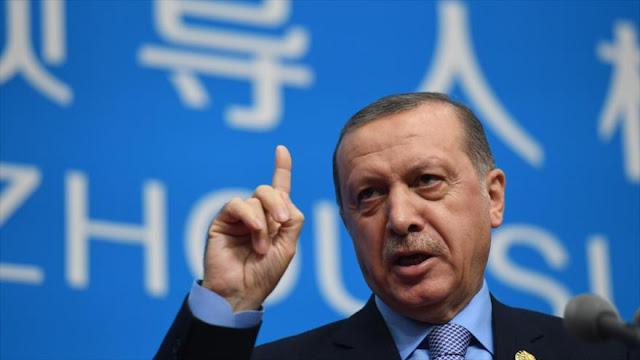 Erdogan: Nuestras operaciones en Siria avanzan hacia el sur