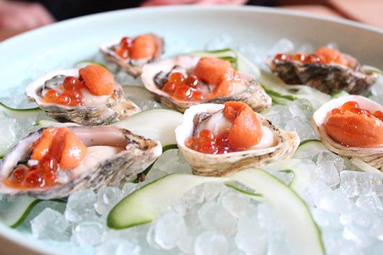 Yonsei Oysters, Hopscotch Bar & Restaurant Uptown Oakland