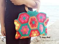 African Daisy Hand Bag