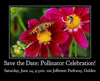 Pollinator Celebration! June 24 in Jefferson County