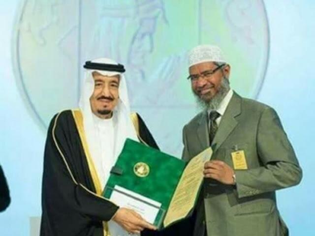 """الملك سلمان يمنح الداعية الاسلامي """"ذاكر نايك"""" الجنسية السعودية والسبب غريب"""
