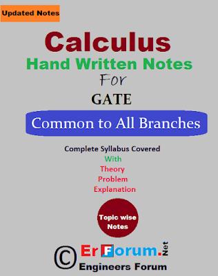 calculus-handwritten-notes-GATE-Exam