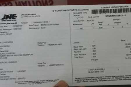 Cara Cek Nomor Resi JNE Kiriman Dari Semarang