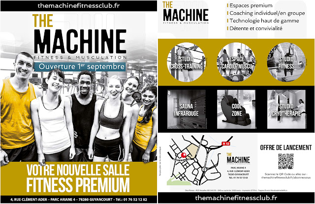 The Machine Fitness Musculation PREMIUM