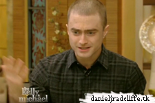 Daniel Radcliffe on Live with Kelly and Michael