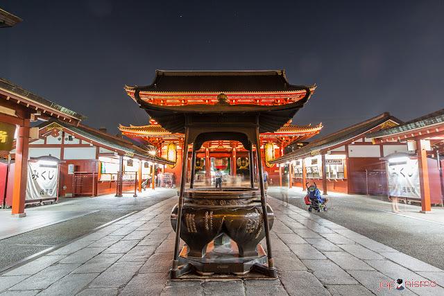 Templo Senso-ji, Asakusa - Tokio, Luis Rodríguez de Japonismo