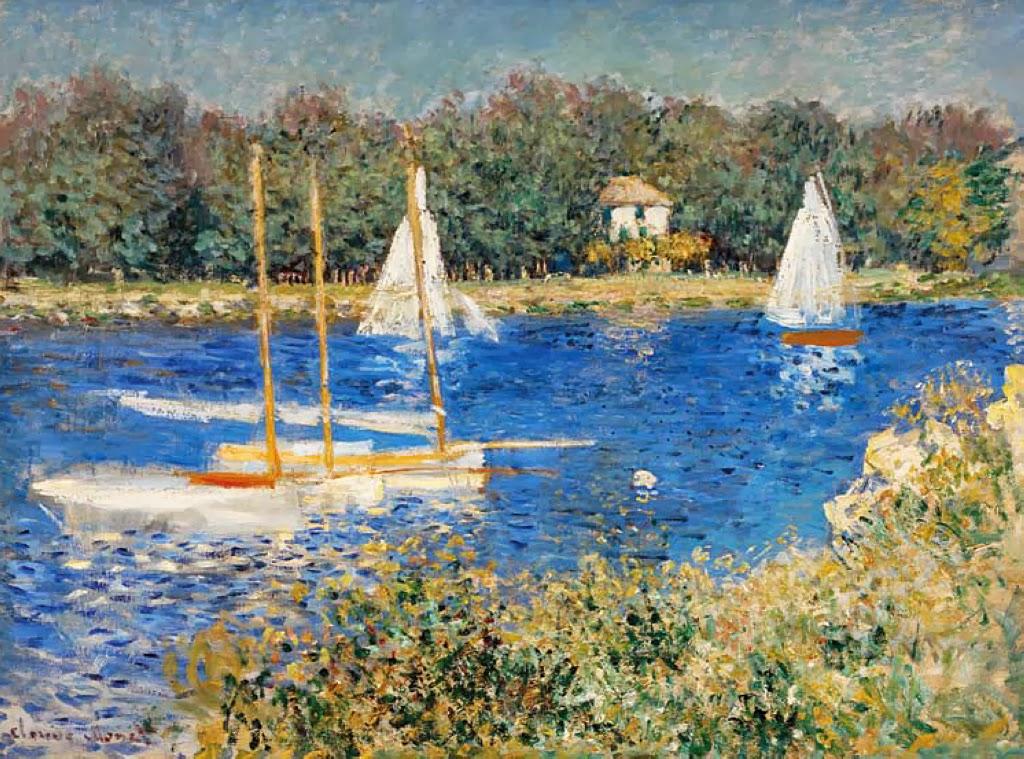 Art Amp Artists Claude Monet Part 7 1874 1875