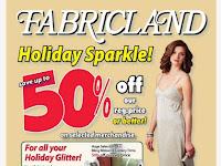 Fabricland flyer this week November 2 - 30, 2017