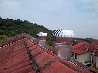 Pemasangan Turbine Ventilator Untuk Semenanjung Malaysia