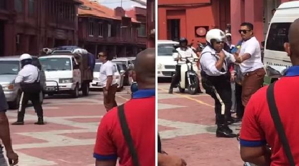 Ini Akibatnya Bila Berani Sangat Tengking Polis. Tindakan Yang Dikenakan Kepada Lelaki Itu Memang Tidak Berbaloi