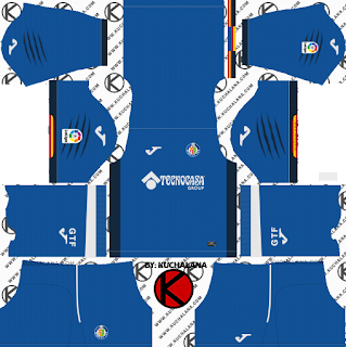 Getafe CF 2018/19 Kit - Dream League Soccer Kits