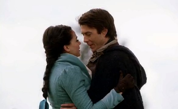Once Upon a Time - Regina (Lana Parrilla) embraces Daniel (Noah Bean)