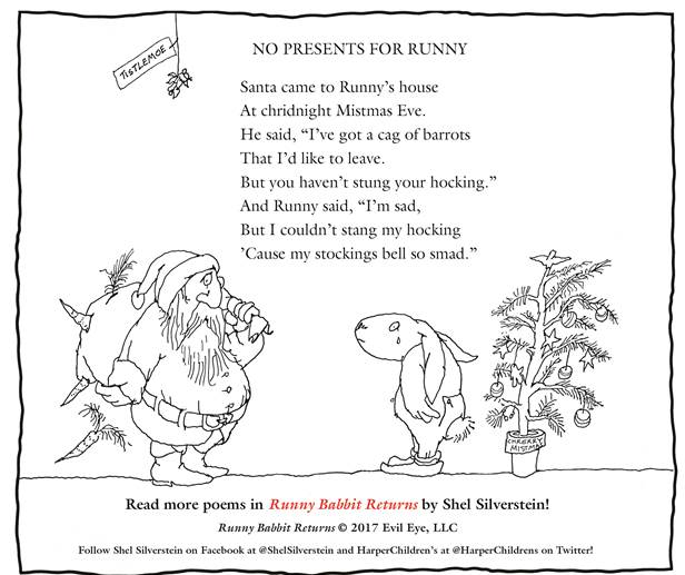 9a85fc6d0a0 Once Upon a Twilight!: Celebrate The Holidays with Shel Silverstein ...