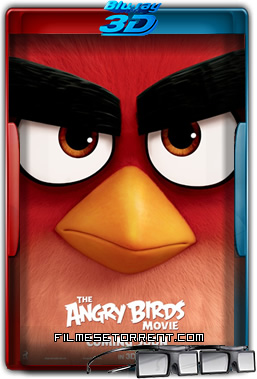 Angry Birds - O Filme Torrent 2016 1080p 3D Half-SBS