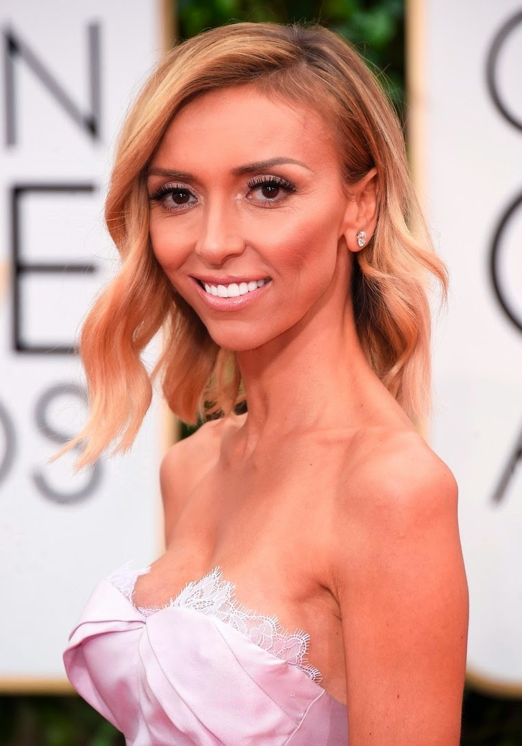 Giuliana Rancic at 72nd Golden Globe Awards