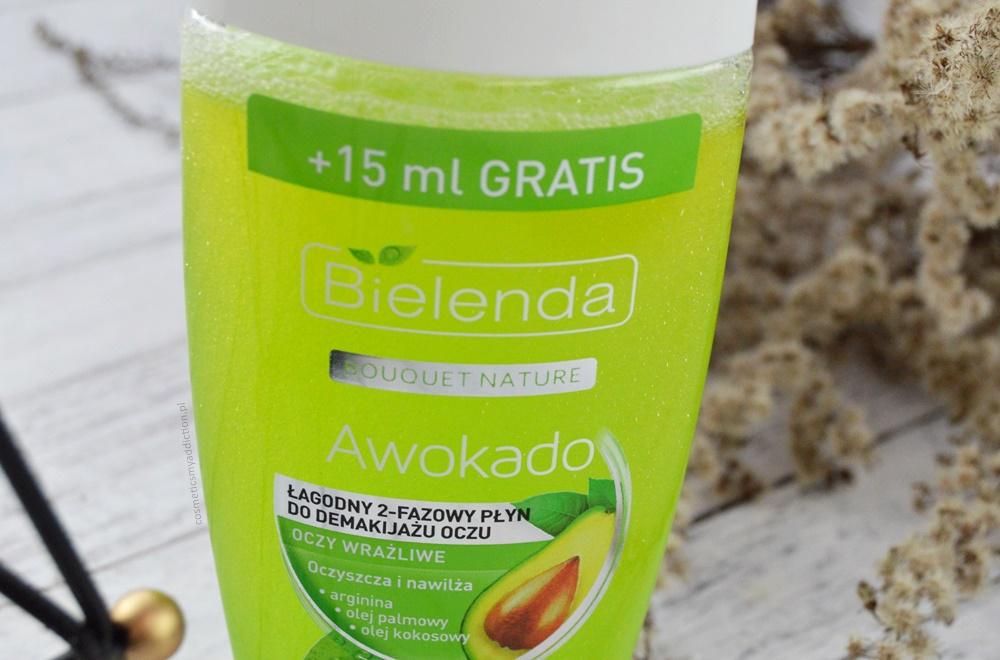 Bielenda, łagodny dwufazowy płyn do demakijażu - Awocado