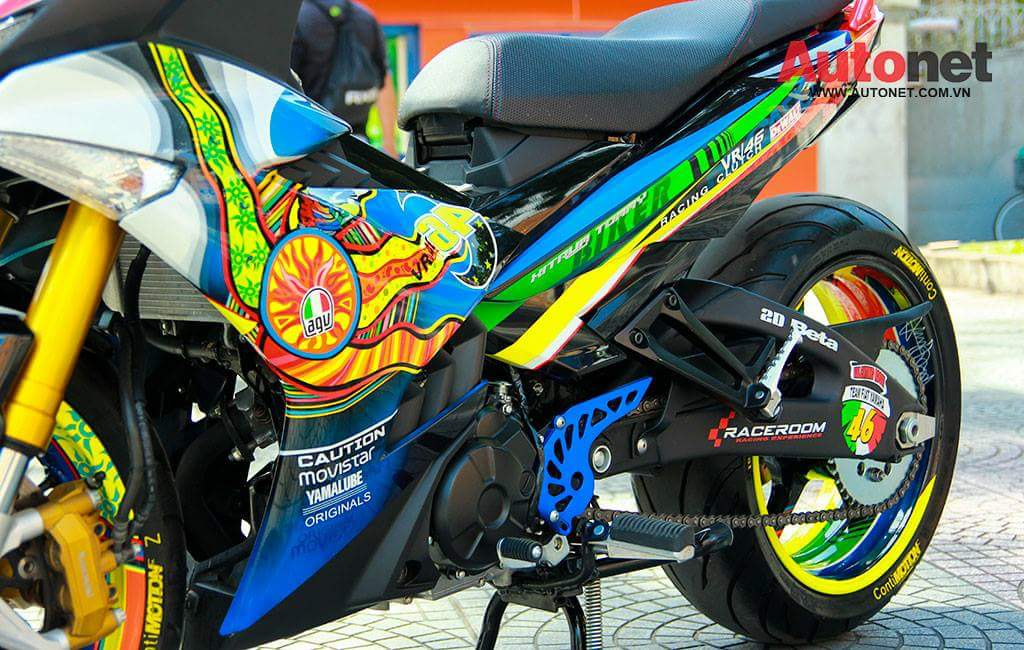 Kembara Yamaha Y15ZR modifikasidecal Y15ZR