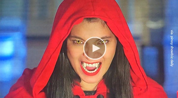 Watch: The moment La Luna Sangre revealed Angel Locsin as the Lady In Red Hood