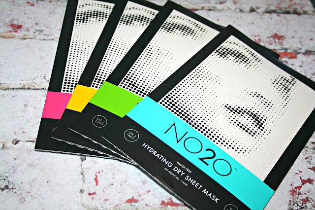 NO2O Dry Sheet Treatment Mask selection
