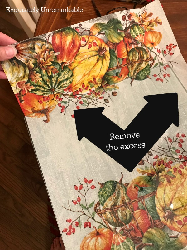 How To Decoupage With Napkins
