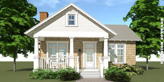 weranda dom w stylu amerykańskim
