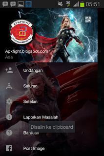 BBM Mod Tema Thor v2.13.1.14 Apk Terbaru