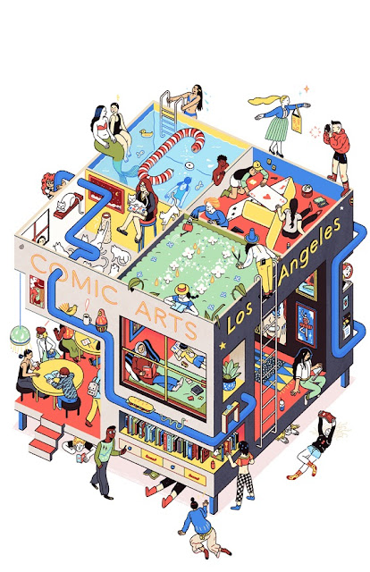 """Imagen Promocional del Comic Arts Los Angeles"" 2016 por Sophia Foster-Dimino 