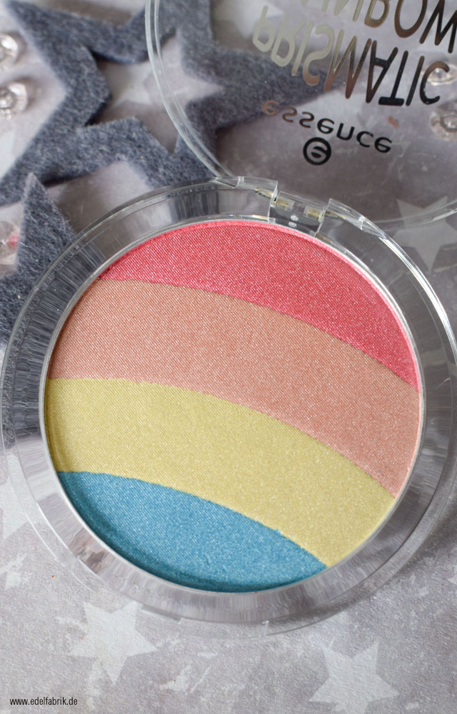 essence Einhorn Highlighter, swatch