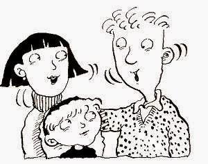 Gambar Kartun Keluarga Bahagia
