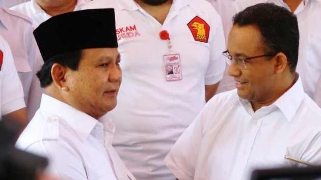 Prabowo Angkat Bicara Soal Kasus Anies Baswedan Terkait Penutupan Jatibaru, Dia Bilang…