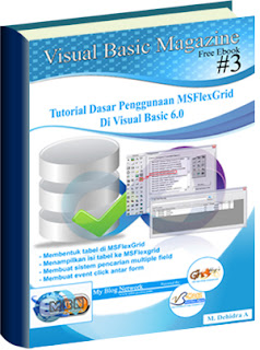 Download Gratis Ebook Tutorial Dasar Penggunaan MSFlexGrid Di Visual Basic 6.0