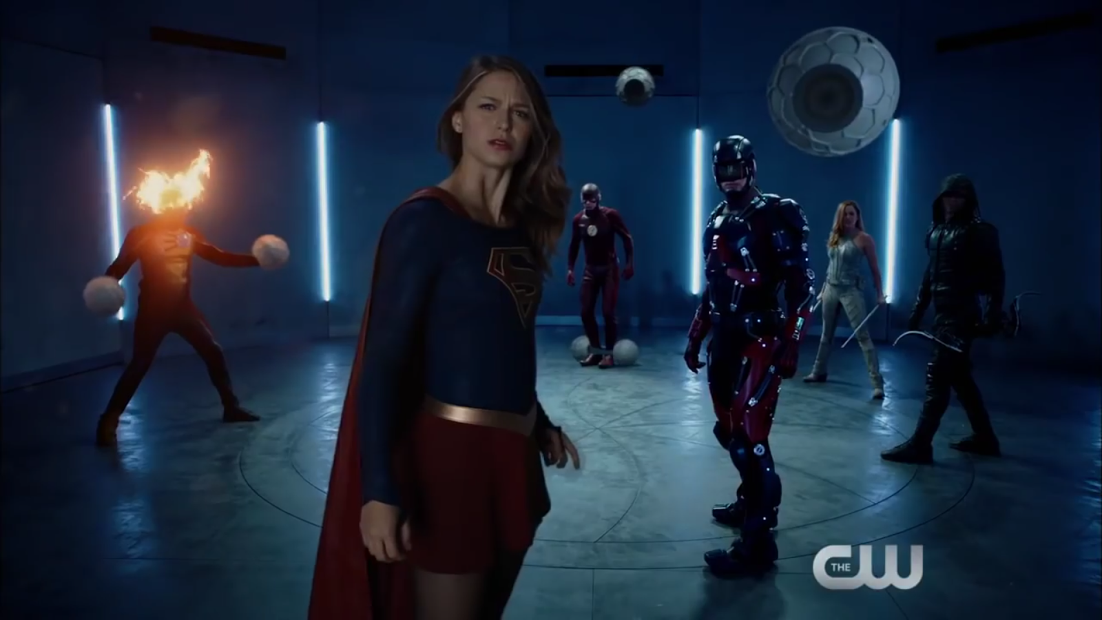 Macrocrossover entre Supergirl, Legends of tomorrow, The Flash y Arrow