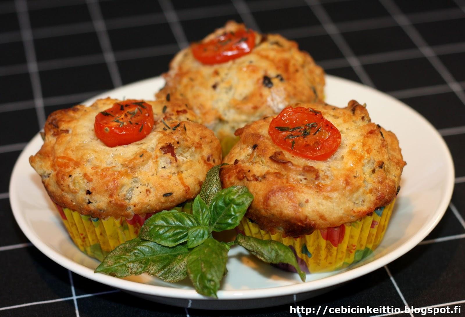 Suolaiset Muffinit Kasvis