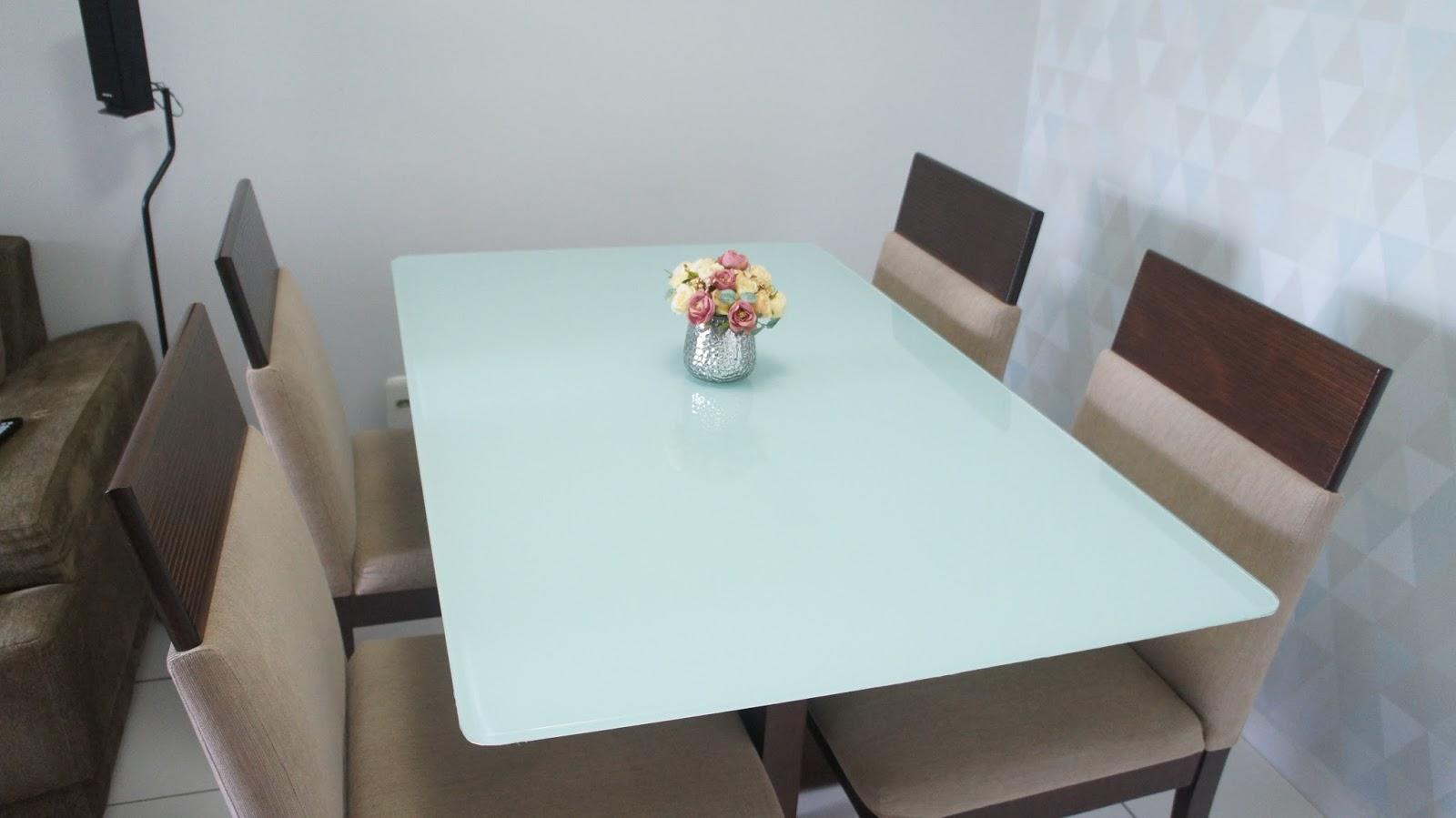 Adesivo De Parede Grande ~ Dica Fina Como envelopar a mesa de vidro