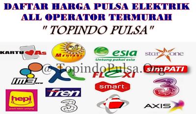 Topindo-Pulsa.Com Agen Pulsa Elektrik Online Termurah
