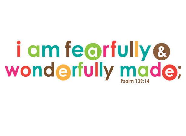 I Am Fearfully And Wonderfully Made Coloring Page Free Coloring Pages