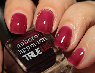 Deborah Lippmann's True Blood-inspired polishes - Bad Blood