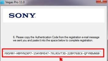 authentication code sony vegas pro 10 64 bit