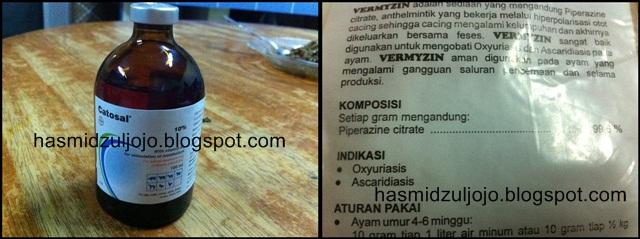 Hasmidzul Gamefowl: Wormer and Vitamin injectable
