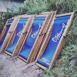 Riley's Fish Shack - deck chairs