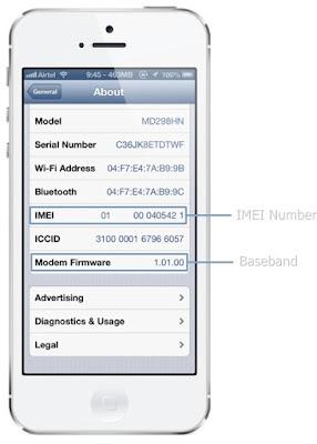 Kiểm tra IMEI iPhone 5c khóa mạng cũ
