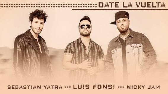Luis Fonsi laçar parceria dançante com Nicky Jam e Sebatían Yatra