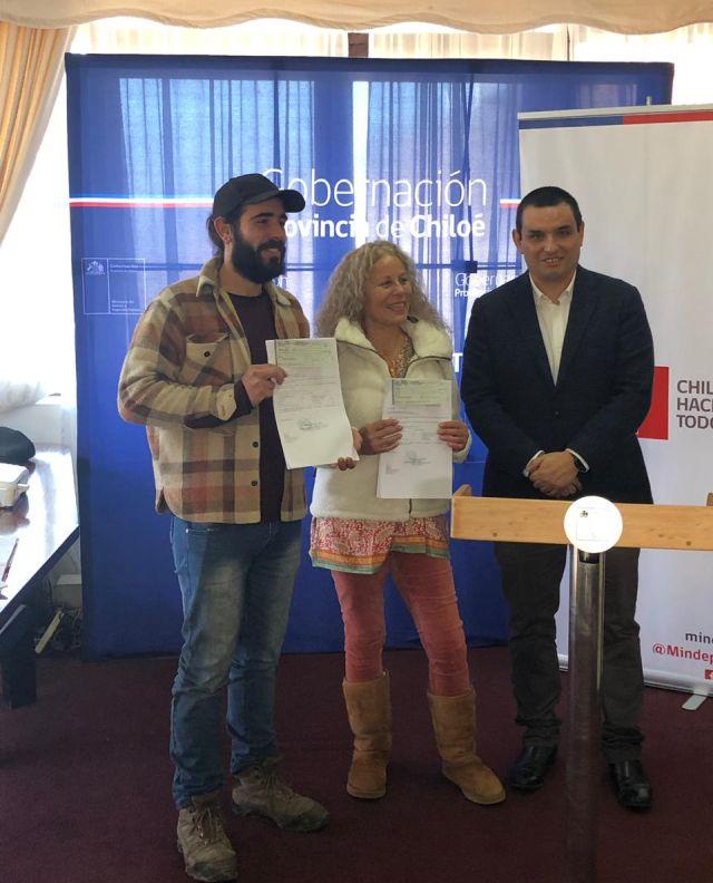 Recursos FONDEPORTE para Chonchi y Curaco de Vélez