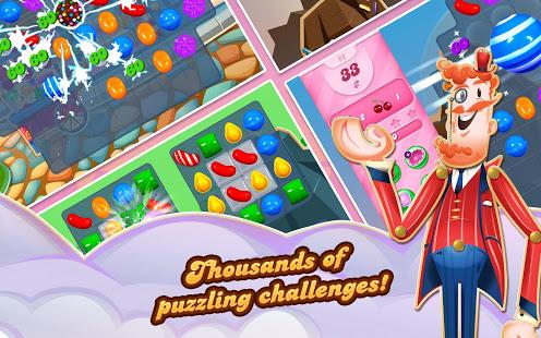 Screenshot Candy Crush Saga