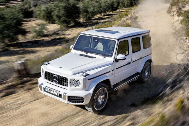 Mercedes G-Wagon AMG Specifications