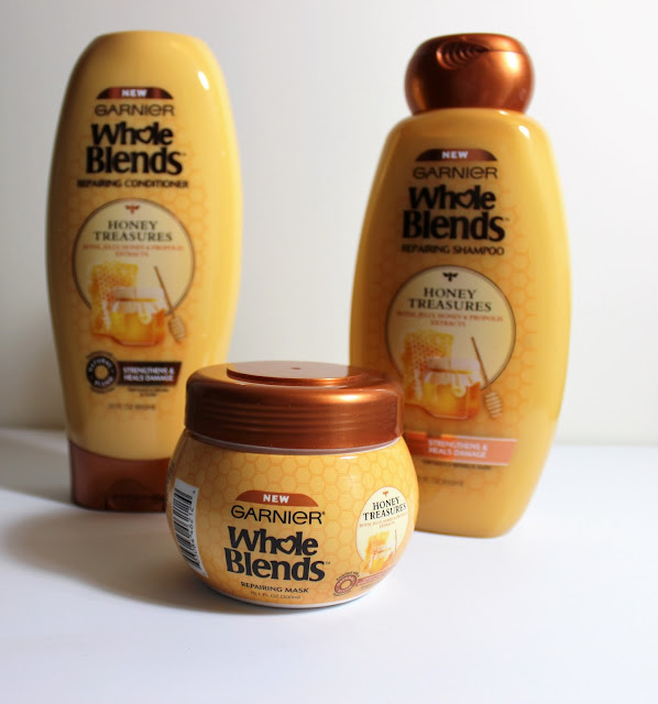 Garnier Whole Blends Repairing Hair Care Honey Treasures Review