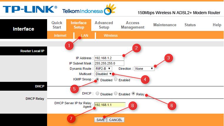 Memanfaatkan Modem Speedy Untuk Access Point