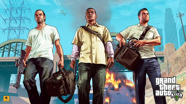 Games que marcaram - GTA V - Trevor Franklin Michael